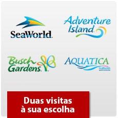 SeaWorld Orlando - Dois parques à sua escolha + 1 Grátis - Acima de 3 anos