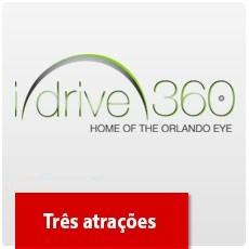 I-Drive 360: Madame Tussauds, SEA LIFE E Icon Orlando 360